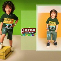 Iranian's Boy's Blouse and Shorts 03