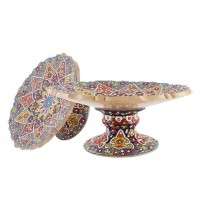 Iranian's  Fruit Potted Pottery 01