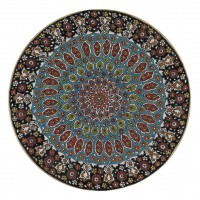 Iranian's  Clay Plate Size 35